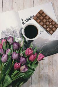 kwiaty i słodycze